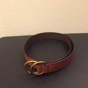 GAP Belt | Size Medium | Brown Leather